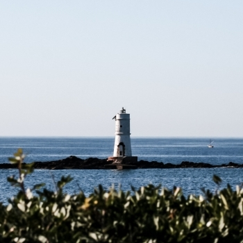 Maddalenetta Lighthouse