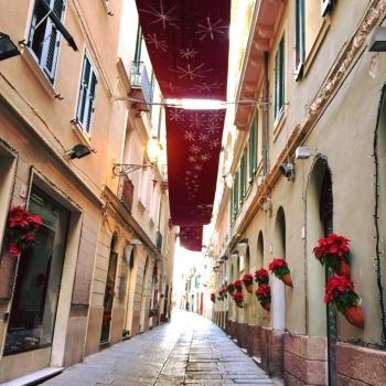 Decorazioni natalizie Alghero