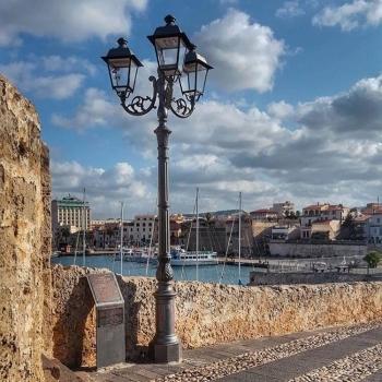 Vista di Alghero dalla Torre di Sant'Elmo