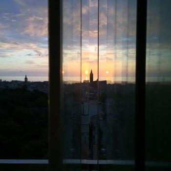 Alghero at dusk