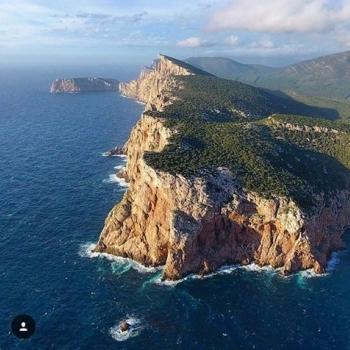 Vista aerea di Capo Caccia
