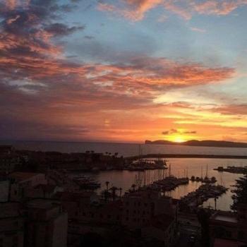 Sunset Blau Skybar