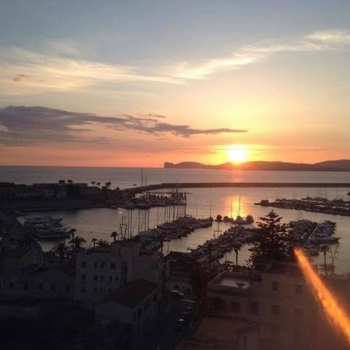 Sunset at Capo Caccia