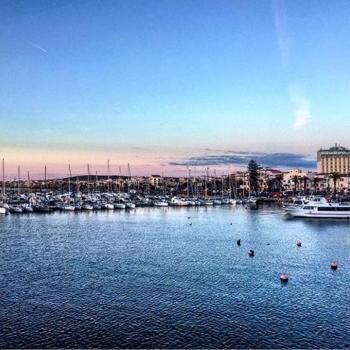 Panorama di Alghero e del porto