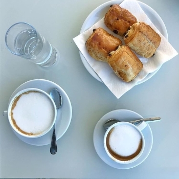 Skybar breakfast