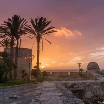 Torre della Polveriera al tramonto