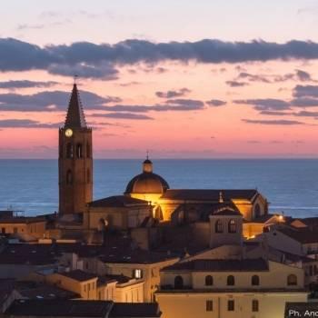 Centro storico al tramonto