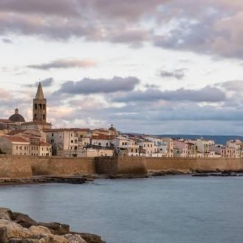 Città antica di Alghero e bastioni