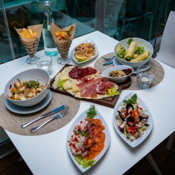 Meat and fish dishes