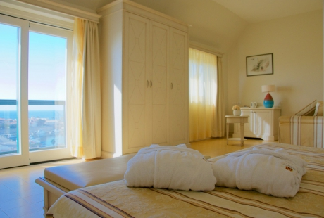 Junior suite con vista sul porto