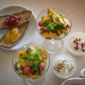 Macedonie Confetture e yogurt