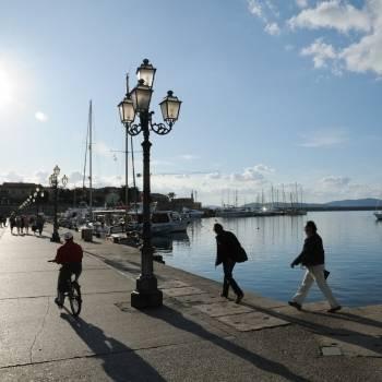 Angolo del porto di Alghero