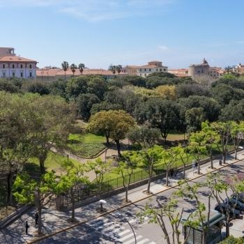 Giuseppe Manno gardens in spring