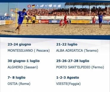 Nazionale italiana Beach Soccer ad Alghero