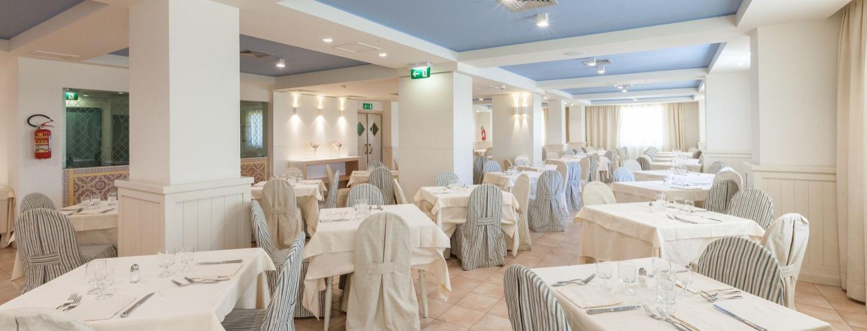 Panoramica sul ristorante Maqù