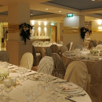 Sala ristorante per matrimonio