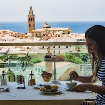 Prima colazione con vista su Alghero